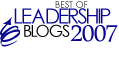 Best Leadership Blogs 2007